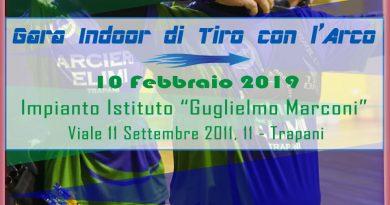 Compagnia Arcieri Elimi - Gara Indoor - Trapani - 10_02_2019