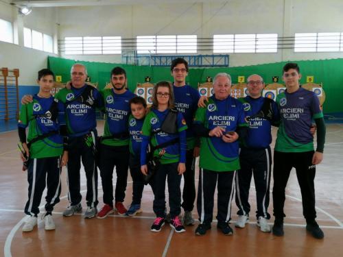 Compagnia Arcieri Elimi - Gara Indoor - Erice, 24 Novembre 2019