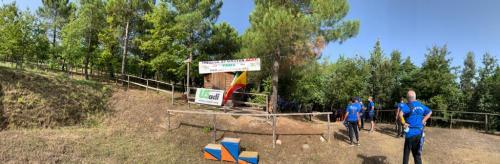 Gara tiro con l'arco 3D San Marco D'Alunzio (ME) 23/08/2020.
